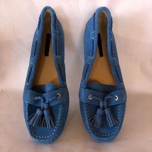 Talbots Blue Flats